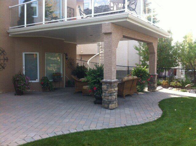Backyard Patio Design & Installation Contractor in Calgary