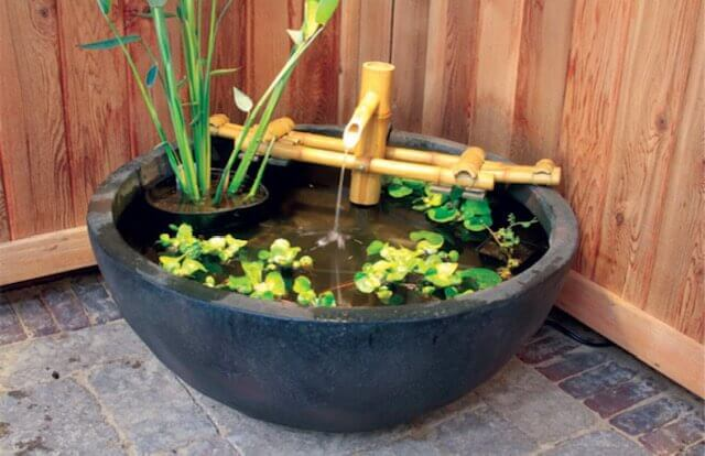 Garden Bubbler Fountain and Water Feature