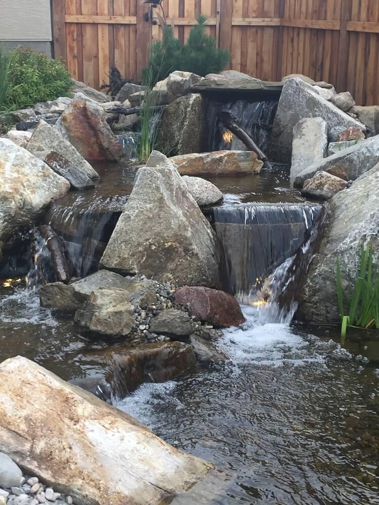 Waterfall Builder in Calgary