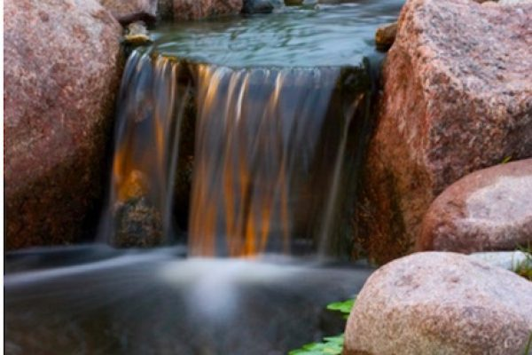 Waterfall - Pondless Waterfall Okotoks, AB